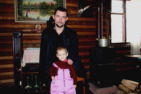 Алексей и дочка Даша