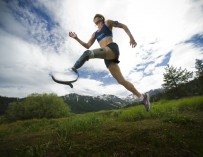Эми Палмиеро-Уинтерс: Ультрамарафон без одной ноги