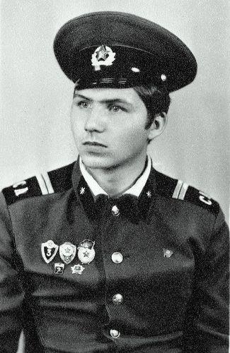 Александр Гениевский во время службы в армии