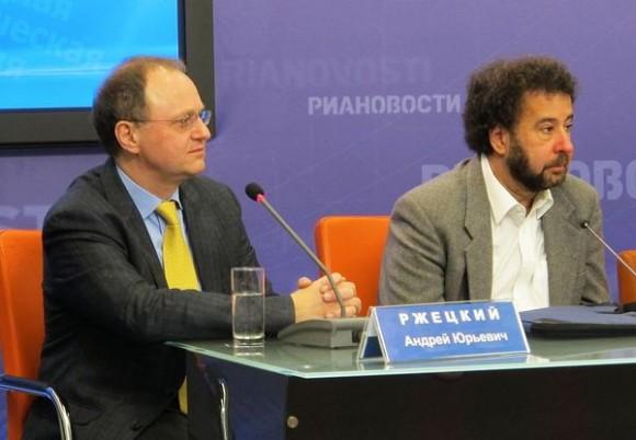Андрей Ржецкий и Стивен Эдельсон