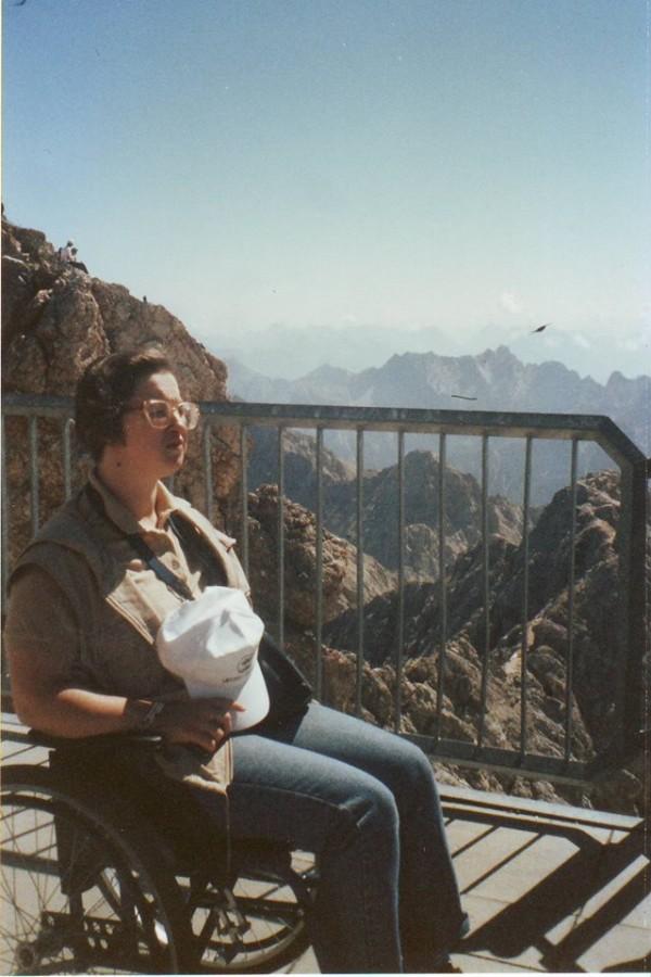 На Цугшпитце, 2003 год