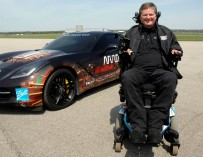 Парализованный гонщик будет участвовать в автогонке «500 миль Индианаполиса»