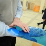 Говорящую закладку и печатную машинку для слепых представили на выставке в Екатеринбурге