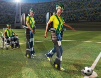 На чемпионате мира по футболу в Бразилии дебютируют экзоскелеты