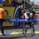 Результаты Бостонского Марафона 2014: Эрнст Ван Дайк и Татьяна Макфадден победили в категории колясочников