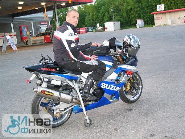 Шведский опыт. Этот мотоцикл адаптирован под нужды человека с инвалидностью