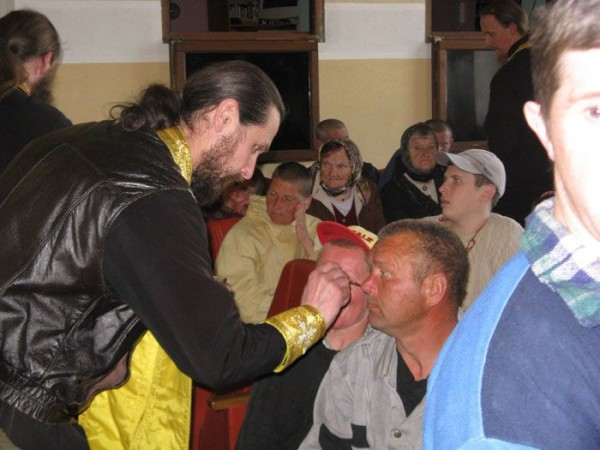 Соборование в интернате
