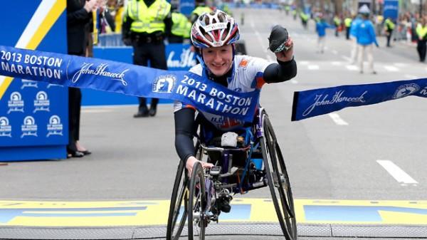Tatyana McFadden wins Boston Marathon wheelchair race