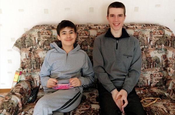 Впервые в гостях у Никиты и Ольги Щирук