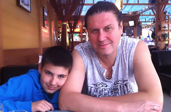 Игорь Шпицбер и Август, 2005 г.