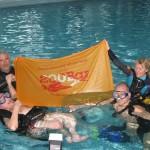 Воронежские инвалиды-дайверы нырнули в самый глубокий бассейн России