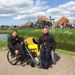 Велопокатушки на хэндбайках по Королевству Нидерланды, или приключения белорусских колясочников в Голландии