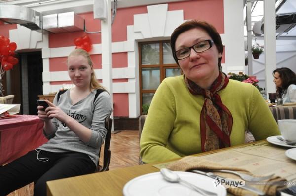 Елена и Ира Дыскины.