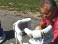 Гродненец сконструировал аппарат, который поможет людям с ограниченными возможностями разносторонне развиваться