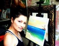 Zuly Sanguino — талантливая колумбийская художница, рожденная без рук и ног