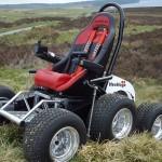 HexHog ATV – настоящий внедорожник для инвалидов