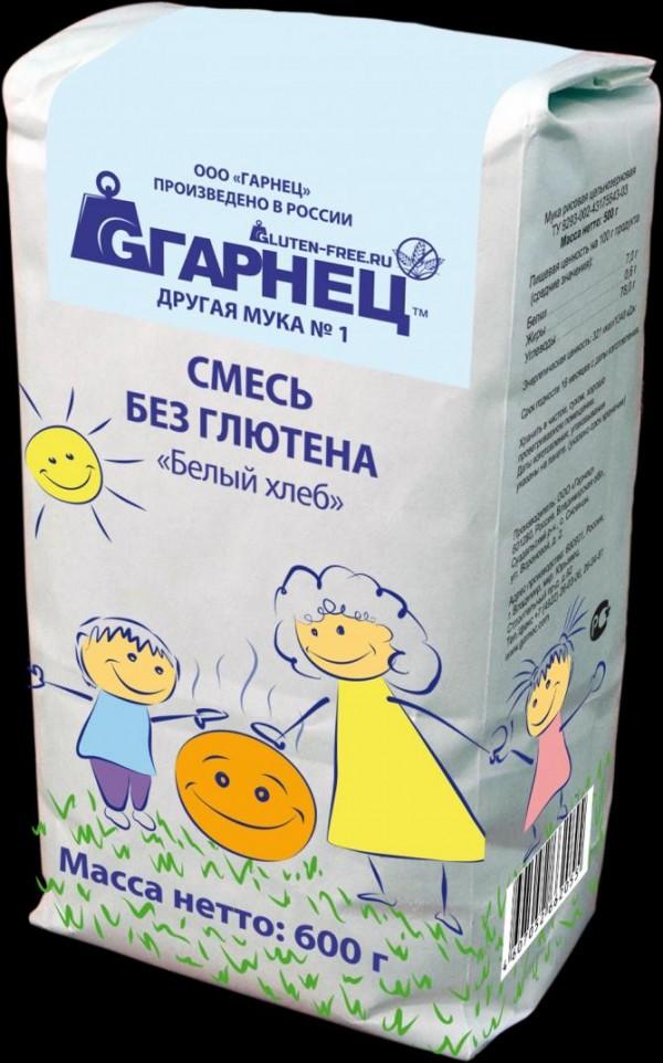 """Российская безглютеновая смесь для выпечки от """"Гарнец"""""""
