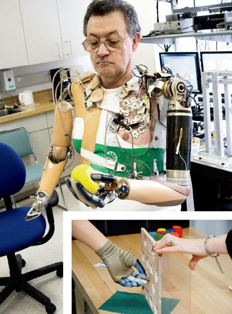 biomedical implant for vision prothesis