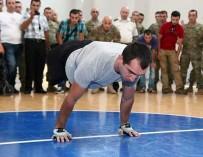 Грузинский военный, оставшийся без ног, установил мировой рекорд