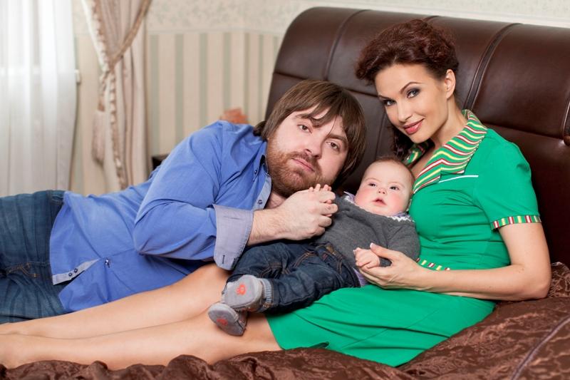 Эвелина блёданс и её дети фото