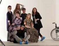 Телеканал СТС-Ола ТВ вместе с моделью Татьяной Козуто провели фотосессию для девушек с ограниченными возможностями