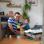 Отцовство без ног – шаг на пути к уверенности в себе!