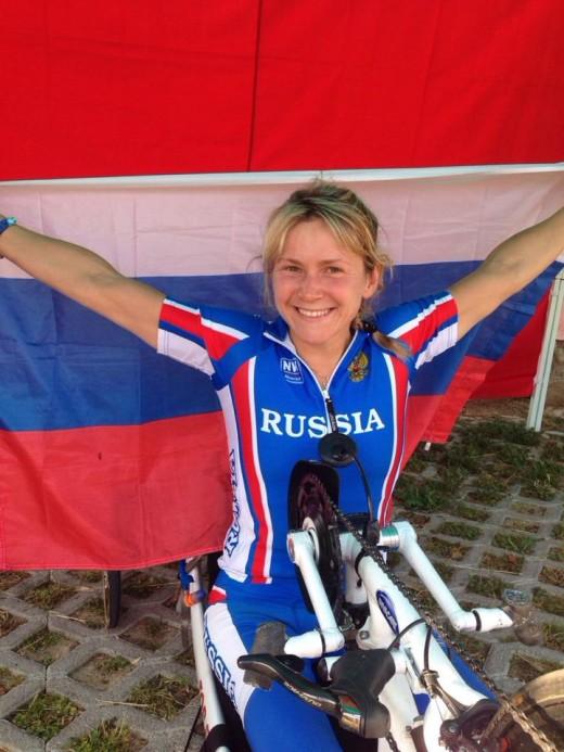 Светлана Мошкович — бронзовая призёрка Паралимпийских игр в Лондоне