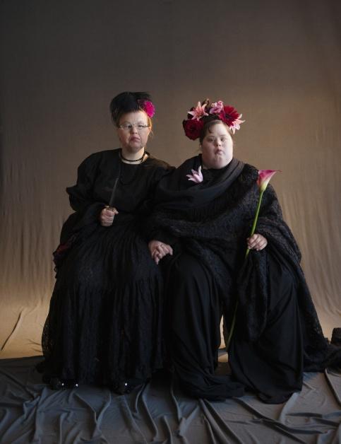 Ирина фон Мартенс (слева) и Пиа Ренес. Фото предоставлено пресс-службой МАММ