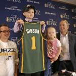 «Юта Джаз» подписала контракт с 5-летним мальчиком, больным лейкемией