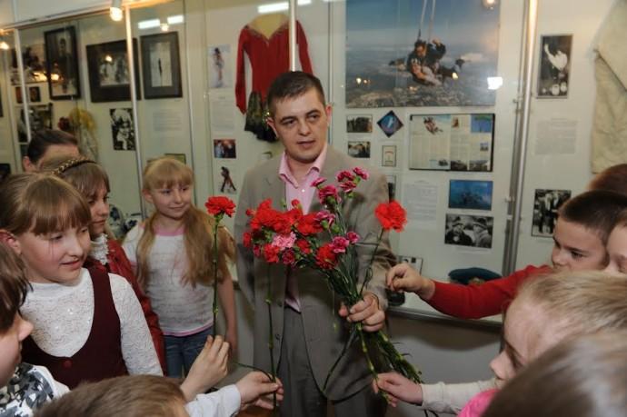 И.С. Задорожный в Музее-центре им. Н.А. Островского