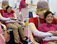 Японцы придумали кресло для одиноких людей