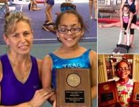 Слепая гимнастка покорила публику