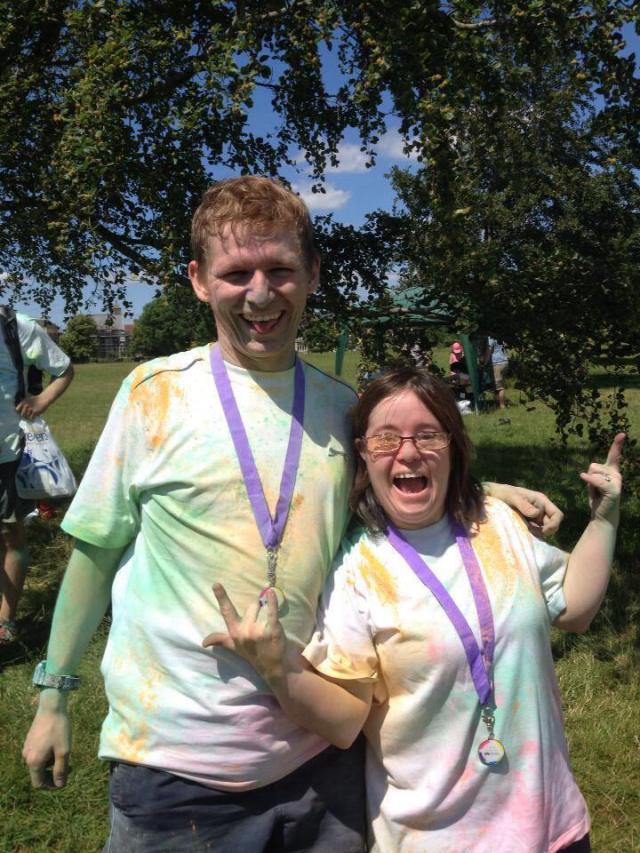 Кейт и Стив после красочного забега в поддержку местной детской больницы