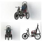 Российские инженеры разработали трицикл для инвалидов