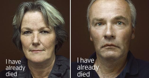 Социальная реклама голландского фонда ALS Foundation Netherlands, направленная на увеличение осведомленности о БАС