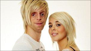 Йоно и Лора. Их дети унаследую синдром Тричера Коллинза с 50%-вероятностью