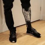 3D печатный екзо-протез ноги сочетает в себе эстетичность и доступность