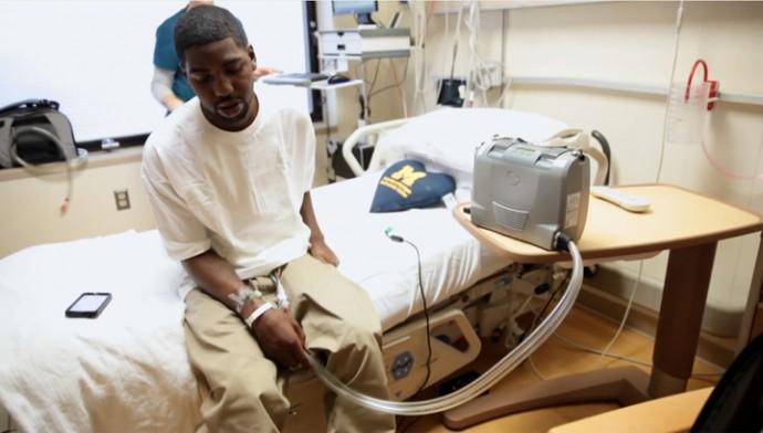Фото. Стэну Ларкину было 16 лет, когда ему поставили диагноз «врожденный порок сердца»