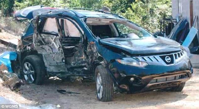 Машина Кэти после аварии