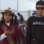 Эквадорский студент изобрел уникальный костюм для слепых людей