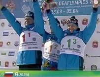 Российские спортсмены лидируют по общему количеству медалей на Сурдлимпийских играх