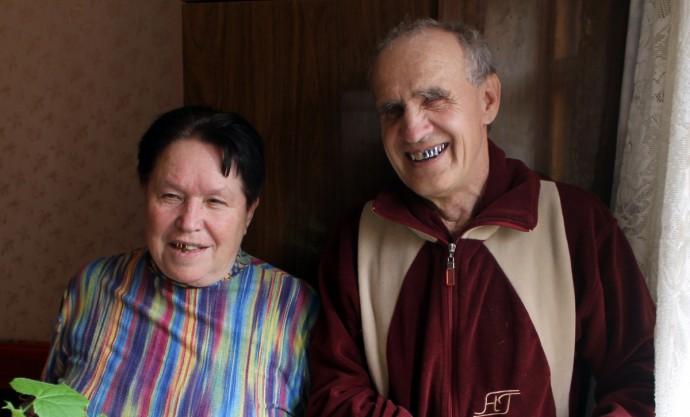 Демьян Зайчик с супругой