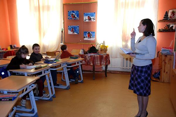 Урок начального класса в общеобразовательной школе «Ковчег». Фото: Школа № 1321 «Ковчег»