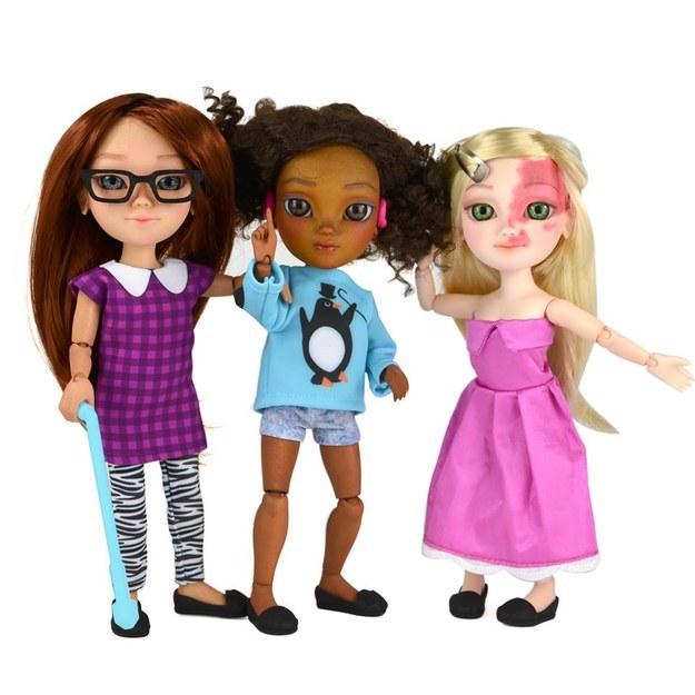 Особенные куклы Makies