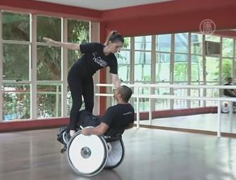 Танцоры в инвалидных колясках покоряют Бразилию