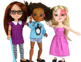 Первую в мире линию кукол с особенностями смели с полок