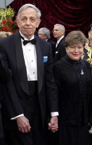 Джон и Алисия Нэш незадолго до гибели