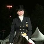 Елена Калинина на коне