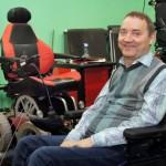 Роман Аранин из Калининграда изобрел коляску-вездеход