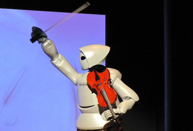 Японский робот во время выставки в Шанхае, 2010 год Фото: ChinaFotoPress / Zumapress / Global Look